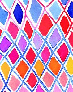 Kate Spade #multi #watercolor