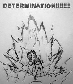 Undertale DBZ Super Determination