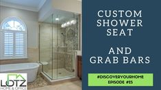 Custom shower seats and grab bars are the two redesigning demands we get from many of our clients. Safety and security around the shower is really a must for every age. #bathroomdesigns #aginginplace #lotzofanswers #bathroomdetails #bathroomgoals #bathroomrenovation #bathroomremodel #bathroomremodeling #bathroominspiration #showerbench #grabbars #bathroommakeover #bathroomideas #bathroomreno