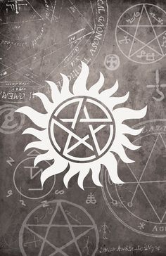 Supernatural Symbol Poster - 11 x 17 Glossy Cardstock - Unisex teenage gift…