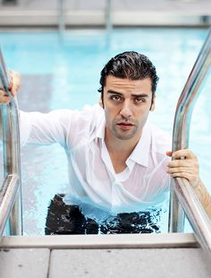 Oscar Isaac photographed by Gregg Delman for Ocean Drive Magazine, 2011