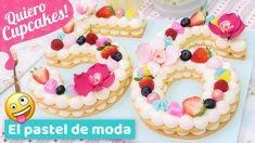 PASTEL DE NÚMEROS | Tendencia 2018 | Quiero Cupcakes!