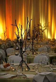like these tree candle holders