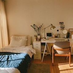 With the new school year approaching comes the mad dash to find the perfect dorm room decor and accessories to Room Ideas Bedroom, Home Bedroom, Bedroom Decor, Bedroom Wall, Bedroom Designs, Modern Bedroom, Bed Room, Wall Decor, Narrow Bedroom