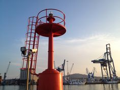 Ancona, la Lanterna Rossa al Molo Nord