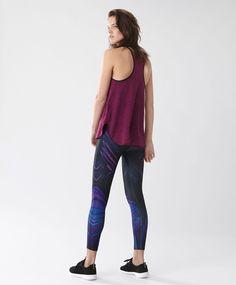 Femme Slim Sport Gym Fitness Course Haute déchets Stretch Noir Legging UK