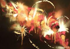 Collection: Les fleurs du mal, aérosols sur papier, 70x50cm, encadré. Disponible. Prix sur demande. Deco, Painting, Collection, Design, Budget, The Flowers Of Evil, Paper, Painting Art, Deko