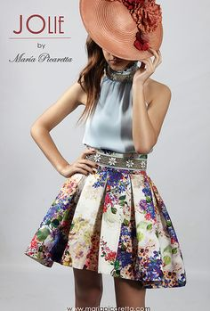 Party Dresses by María Picaretta - Dresses for Teens Dresses For Teens, Outfits For Teens, Casual Outfits, Girls Dresses, Cute Outfits, Dresses Dresses, Dinner Gowns, Teen Girl Outfits, Skirt Outfits