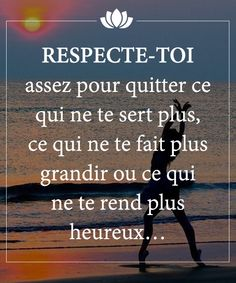 Discover recipes, home ideas, style inspiration and other ideas to try. Positive Mindset, Positive Attitude, Positive Quotes, Affirmations Positives, Quote Citation, Free Mind, Letting Go Of Him, French Quotes, Love Words