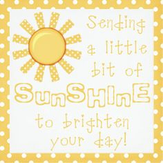 Basket of Sunshine with printables