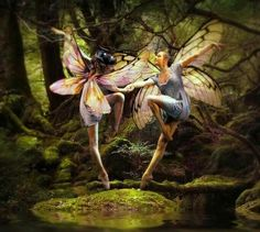 Dancing Faeries