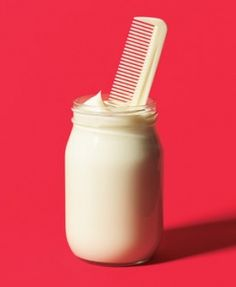 [How to Do a Mayo Hair Treatment] inexpensive way to really deep condition your hair.
