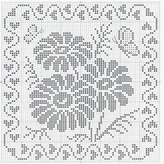 If you choose what you will crochet motif of flowers is always a good choice.             The scheme is not difficult, it is necessary to...