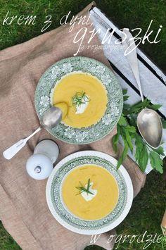 Jesienny krem z dyni, gruszek ze świeżym rozmarynem. | Make Cooking Easier