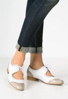 Pinto Di Blu - Zapatos de vestir - taupe/blanc