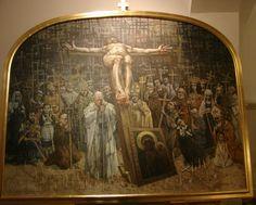 Jerzy Duda Gracz - Jasna Góra de Czestochowa, en Polonia, se pueden admirar 18 cuadros del pintor polaco Jerzy Duda Gracz