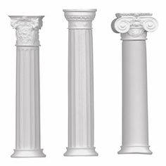 Classic Chalk Columns White 9pk, $15, now featured on Fab.