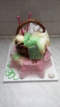 Lacy cake