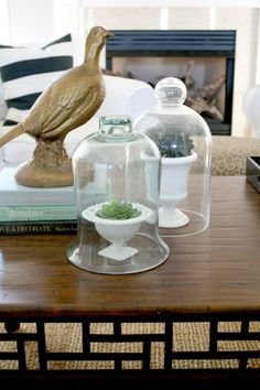 Decorative objects: http://www.stylemepretty.com/living/2015/03/14/how-to-style-a-coffee-table/