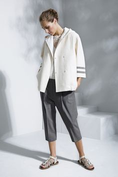 Brunello Cucinelli Spring 2016 Ready-to-Wear Fashion Show  ...perfect dressy-casual outfit...