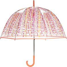 Vera Bradley Bubble Umbrella in Pixie Blooms ($31) ❤ liked on Polyvore featuring accessories, umbrellas, pixie blooms, multicolor umbrella, vera bradley umbrella, clear bubble umbrella, colorful umbrellas and vera bradley