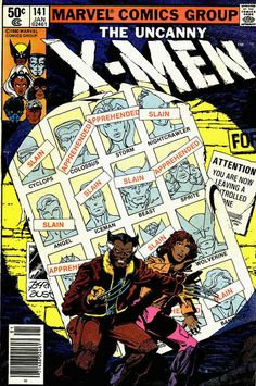 As part of Orion Martin's project, X-Men of Color, he reimagined this famous X-Men cover by recoloring two characters as brown. This cover c...