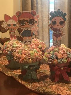 LOL Surprise Dolls Centerpiece - Keira's Birthday Ideas - You are in the right place about Lol Surprise Dolls Party Ideas tutus Here we offer y 7th Birthday Party Ideas, 8th Birthday, Unicorn Birthday, Unicorn Party, Surprise Birthday, Kids Party Centerpieces, Doll Party, Lol Dolls, Diy Doll