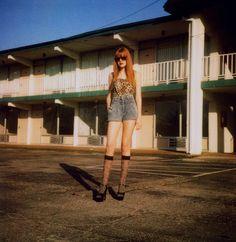 fashion editorial, motel