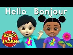 Learn French for Kids - Numbers, Colors & Teach English To Kids, Learning French For Kids, Ways Of Learning, Learning Italian, Teaching French, Learning Spanish, Kids Learning, Why Learn French, Basic French Words