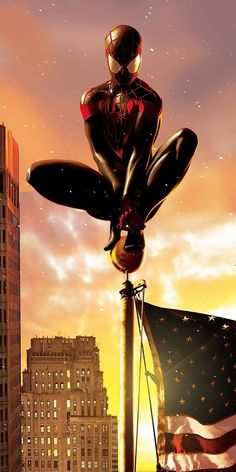 Black Spiderman, Spiderman Marvel, Marvel Avengers, Marvel Phone Wallpaper, Best Background Images, Miles Morales, Spider Verse, Venom, Marvel Universe