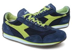 Diadora Womens Heritage Eqipe Stone Wash Running Shoes Sneakers  #diadora #RunningCrossTraining