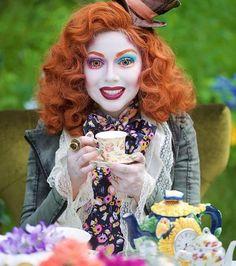 Le maquillage Alice au Pays des merveilles