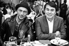 Арман Давлетяров - генеральный директор МУЗ ТВ (на фото с Игорем Гуляевым)