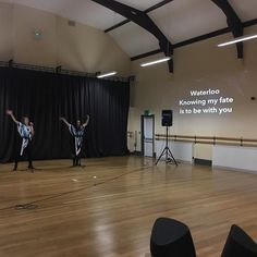 Rehearsals going well for sing along ABBA LIVE! Got your tickets yet? #Abba #singalong #radstock #concert #rehearsal #victoriahall