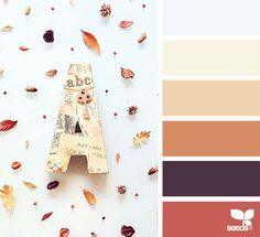 { autumn tones } image via: @in_somnia_ via @designseeds