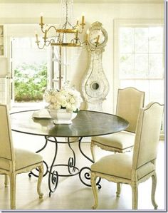 Charming Cottage Chic Dining Room. This Ivy House