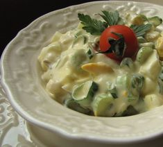 """""""Anya, ez isteni!..."""", avagy Gabojsza konyhája: Spárga saláta Ethnic Recipes, Food, Essen, Meals, Yemek, Eten"""