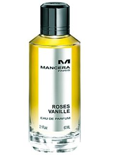 Roses Vanille by Mancera is a sweet, musky, woody Oriental Vanilla fragrance with water notes and lemon in the top.  Rose and sugar in the middle, and cedar, vanilla, sugar and musk in the base - Fragrantica