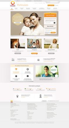 Harmonie Mutuelle # Portail by Anthony Lepinay, via Behance
