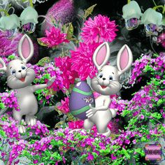 The perfect HappyEaster EasterBunny EasterFlowers Animated GIF for your conversation. Discover and Share the best GIFs on Tenor. Easter Art, Easter Eggs, Happy Easter Wallpaper, Easter Videos, Easter Bunny Pictures, Unicorn And Fairies, Art Nouveau Flowers, Easter Quotes, Easter Wishes
