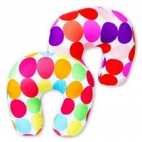travel neck pillows or bolster pillows I want the bright colors