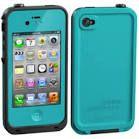 Blue lifeproof iPhone 4s case - eBay/Office Depot.