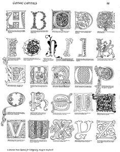 Margaret Shepherd: Calligraphy Blog: Gothic illumination
