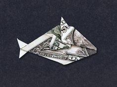 Humuhumunukunukuapuaa Hawaiin Fish - Money Origami