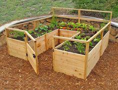 barriere potager jardin,palette,barrière | Bosch Au jardin / en ...