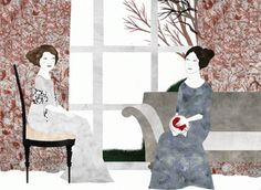 """""""The Watson"""", Jane Austen. Illustrations by Sara Morante. Published by Nórdica Libros."""