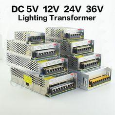 Driver for Power LED AC110V-240V to DC 5V 12V 24V 1A-60A strip Power Supply Adapter Transformer Driver for LED Strip light /CCTV
