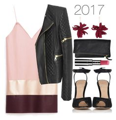 """Untitled #1277"" by meelstyle on Polyvore featuring Balmain, Gianvito Rossi, Lucy Folk and Chantecaille"