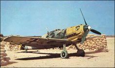 Messerschmitt Bf 109E-7 of I./JG 27 - Libya 1941.