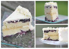 Lemon-Blueberry Layer Cake